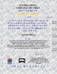 ctro artes coreanas Chile